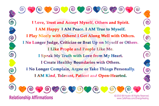relationship healing affirmations